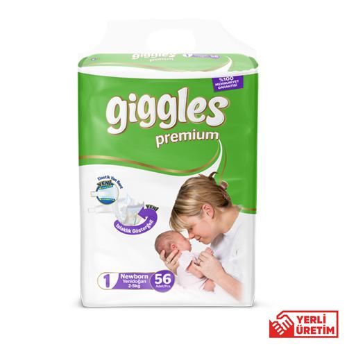 Giggles Premium  Eko 1 Numara Yenidoğan (56 Adet)