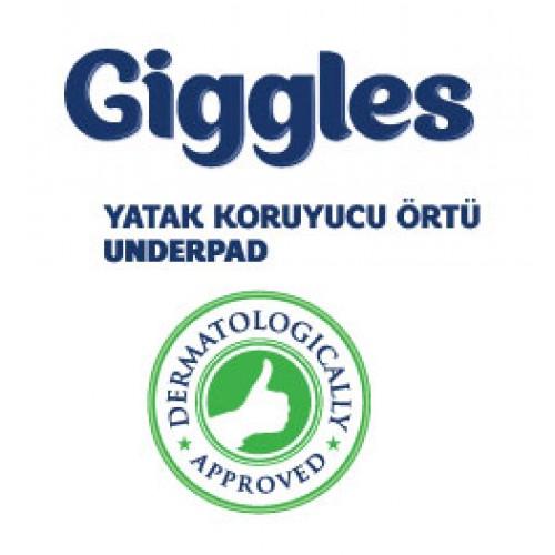 Giggles Yatak Koruyucu Örtü 60x90cm 4x30'lu Paket