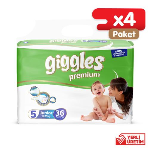 Giggles Premium Eko 5 Numara Junior  (144 Adet)