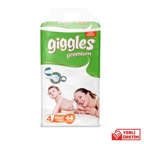 Giggles Premium Bebek Bezi 4 Numara Maxi 44'lü Eko