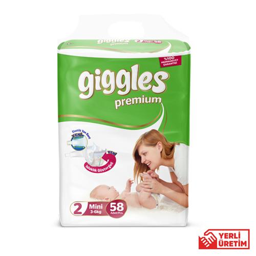 Giggles Premium  Eko 2 Numara Mini  (58 Adet)