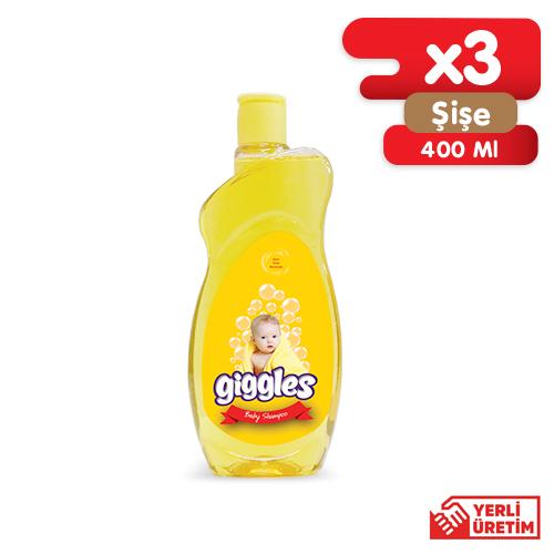 Giggles Bebek Şampuanı 3x400 ml
